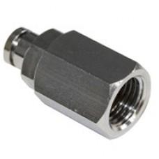 """Reduction - 1/4"""" BSP F Slip-lock for 5 mm"""