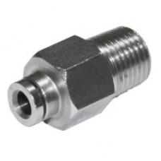 """Reduction - 1/4"""" BSP-T M Slip-lock for 5 mm"""