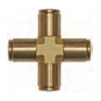 "Fitting - Pipe cross 3/8"" Slip-lock"