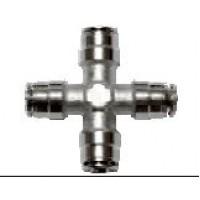 "Fitting - Pipe cross 1/4"" Slip-lock"
