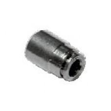 "Fitting - 1/4 ""pipe end plug, Slip-lock"