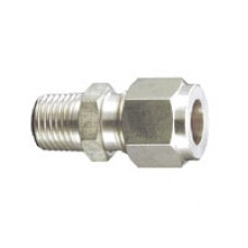 """SS fiting - Male connector (BSP 1/8""""M x 10mm)"""