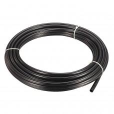 """Nylon tube 1/4"""" PA12-RIGID - BLACK 25 m"""