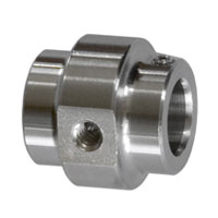 """SS 10mm Nozzle holder - 1 hole 10/24"""""""