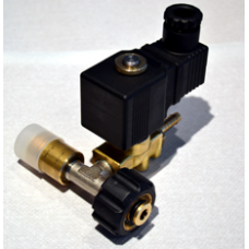 Set - complete depressurizing solenoid - NC 80 Bar with reduction 22x1,5 F + M